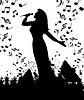 Векторный клипарт: Концерт