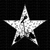 Vector clipart: Music star