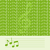 Vector clipart: Musical background