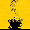Vector clipart: Musical cup