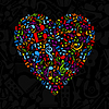 Vector clipart: Musical heart