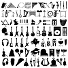 Vector clipart: Musical instruments