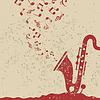 Vector clipart: Saxophone