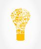 Векторный клипарт: Лампа
