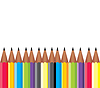 Vector clipart: Framework of pencils