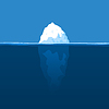 Vector clipart: Iceberg