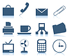 Vector clipart: Office icons