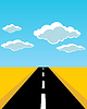Vector clipart: Road