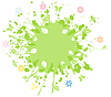 Vector clipart: Spring abstraction