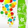 Векторный клипарт: Весна шары