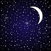 Vector clipart: Star sky