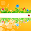 Vector clipart: Summer frame