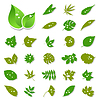 Vector clipart: Leaf icon