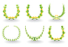 Vector clipart: Wreath