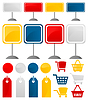 Vector clipart: Icons of sales