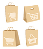 Vector clipart: Package icons