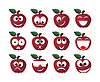 Vector clipart: Apple smile