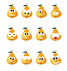 Vector clipart: Pear smile
