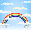 Vector clipart: Rainbow