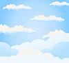 Vector clipart: Sky