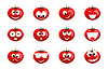 Vector clipart: Tomato smile