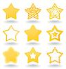 Vector clipart: Icon star
