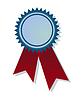 Векторный клипарт: Медаль