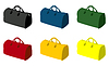Vector clipart: Sports bag