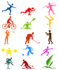 Vector clipart: Sports icons