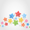 Vector clipart: Star background