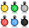 Vector clipart: Stop watch