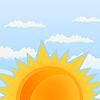 Vector clipart: Sun