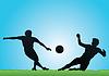 Векторный клипарт: футбол