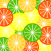 Vector clipart: Background citrus