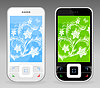 Vector clipart: Cellular telephone