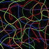 Vector clipart: Neon lines
