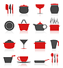 Vector clipart: Ware icons