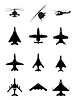 Vector clipart: Aircraft