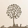 Векторный клипарт: дерево одежды