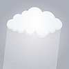 Vector clipart: Cloud