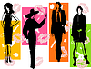 Vector clipart: Fashion