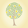 Vector clipart: Lemon tree