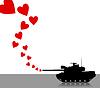 Векторный клипарт: Llove танк