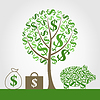 Vector clipart: Monetary tree