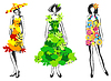 Vector clipart: Natural fashion