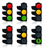 Vector clipart: Traffic light