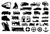 Vector clipart: Transport