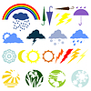Vector clipart: Weather