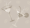 Vector clipart: Wedding glass