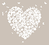 Vector clipart: Wedding heart